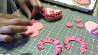 """How I decorated my """"Old Rose Collection"""" cookies"""