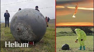 Misteriosas esferas metálicas siguen cayendo del cielo alrededor del mundo