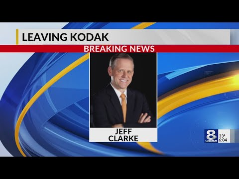 Jeff Clarke steps down as Kodak CEO