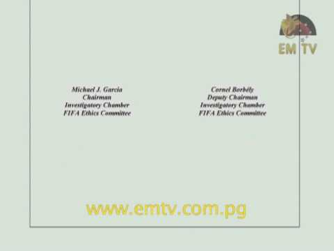 FIFA to Publish Garcia's Report