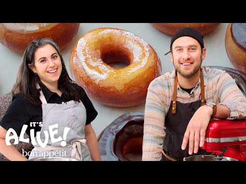 Brad and Claire Make Doughnuts Part 1: The Beginning | It's Alive | Bon Apptit