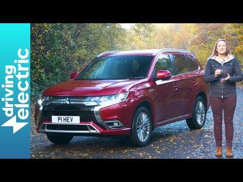 Mitsubishi Outlander PHEV SUV review - DrivingElectric