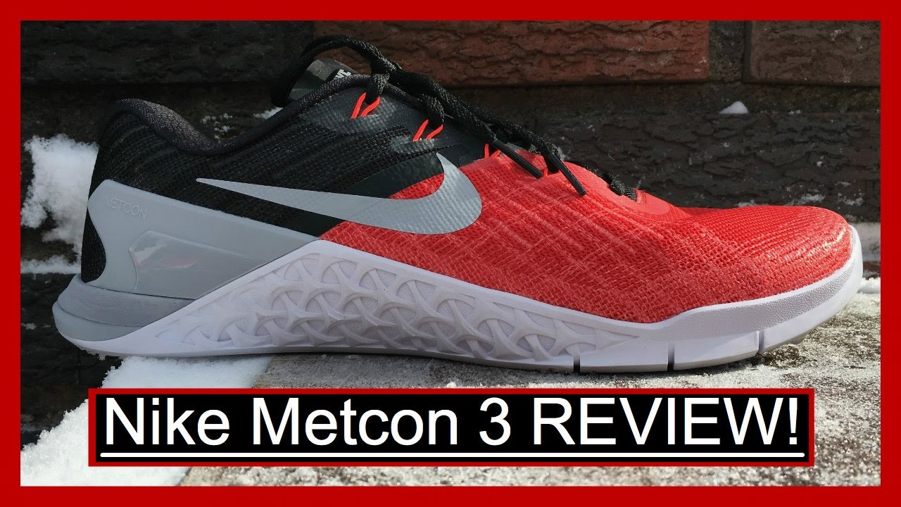 cfef15b0a712 Nike Metcon 3 Review - YouTube