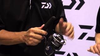 Daiwa Procyon EX Spinning Reels at ICAST 2014