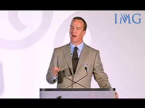 IMG Speakers Presents: Peyton Manning, Super Bowl Winning Quarterback & NFL MVP
