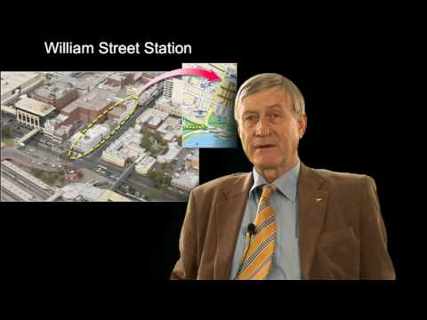 Prof Peter Newman on bus vs rail in Perth