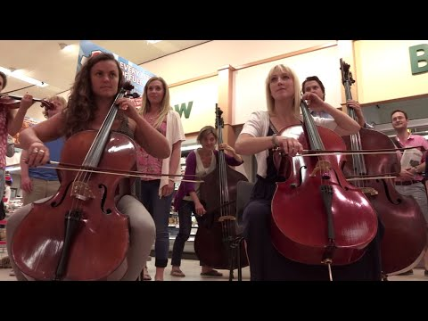 Classic FM's 20th Birthday Flashmob