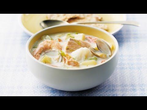 Classic Maritime Seafood Chowder | 2010 Milk Calendar Recipe