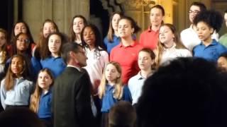 Les Petits Ecoliers chantants de Bondy à Saint Lô