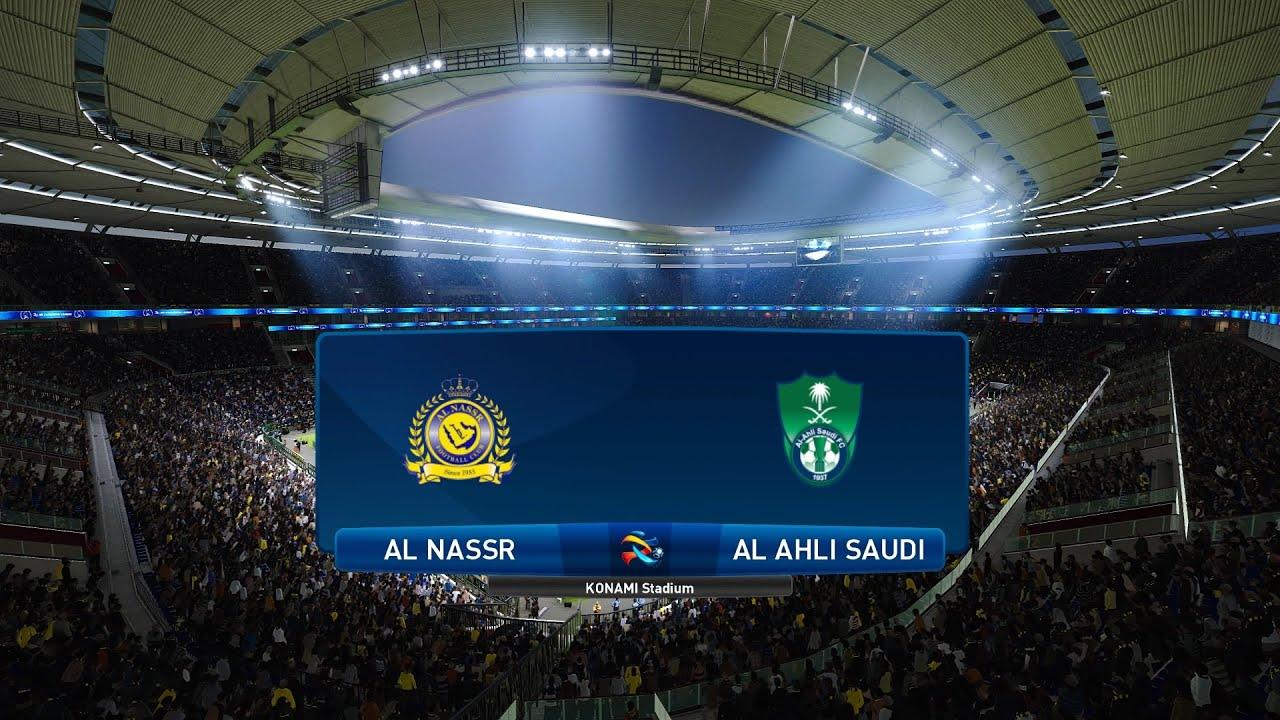 Pes 2021 Al Nassr Vs Al Ahli Saudi Asia Afc Champions League 30 09 2020 1080p 60fps Youtube