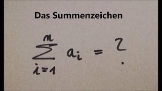 Das Summenzeichen|Mathe, Physik und Statistik by MaPhyX