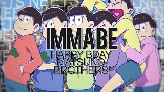 SFS } IMMA BE [IC] HAPPY BIRTHDAY, YOU NEETS!