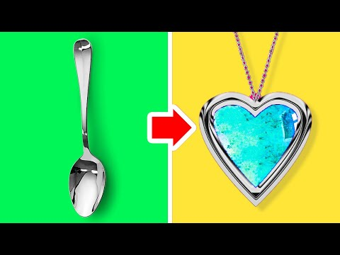 10 SPOONS AND 15 FORKS DIY PROJECT EVERYONE SHOULD KNOW