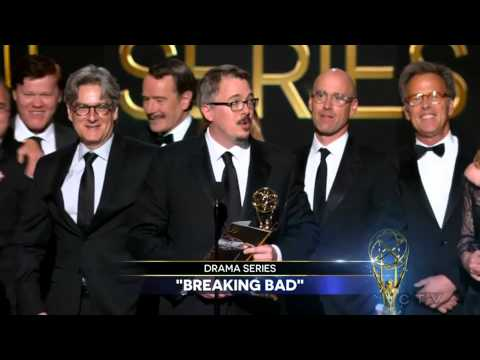 Breaking Bad wins Outstanding Drama Series at the 2014 Primetime Emmy Awards