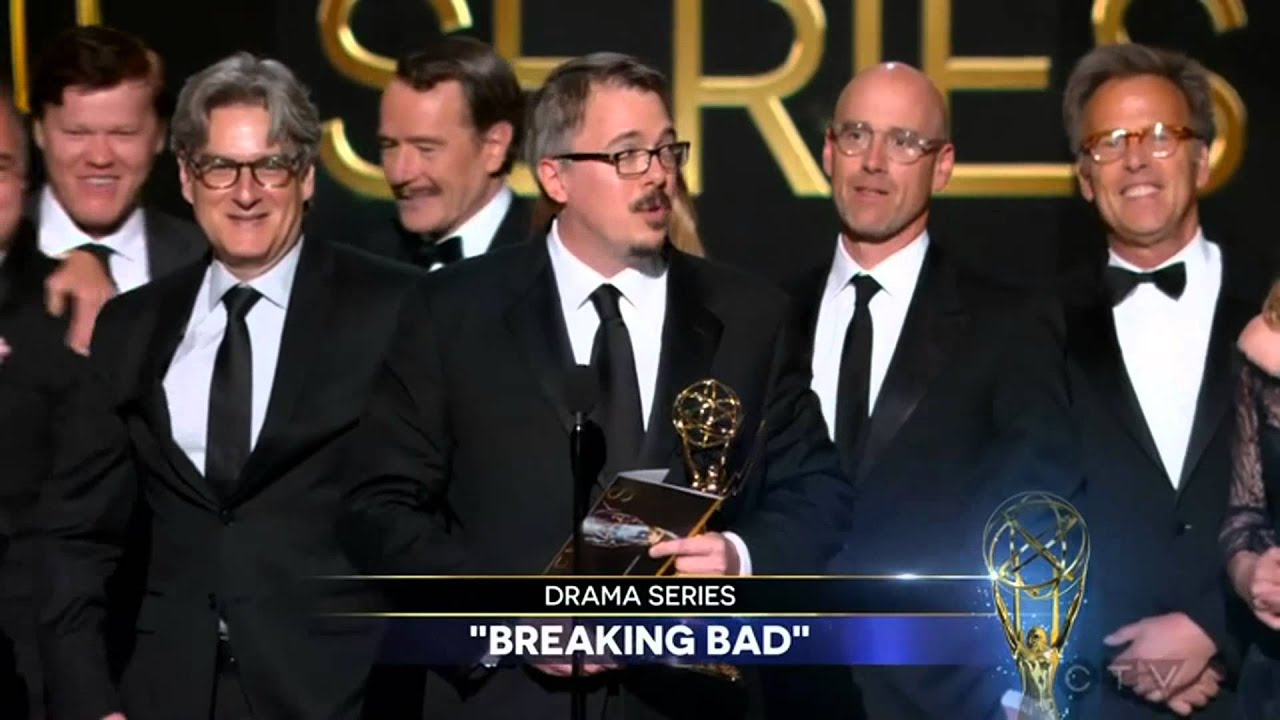 Breaking Bad Wins Outstanding Drama Series At The  Primetime Emmy Awards Youtube