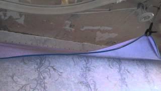 Заправляем углы ПВХ полотна на двухуровневой конструкции(Выполняем монтаж натяжных потолков любой сложности наш сайт http://natyagznie-potolki.pro/двухуровневый-натяжной-потол..., 2015-06-16T16:26:10.000Z)