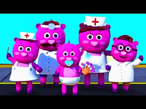 DOCTOR FAMILY SONG | 3D Nursery Rhymes For Kids and Baby Songs By All Babies Channel