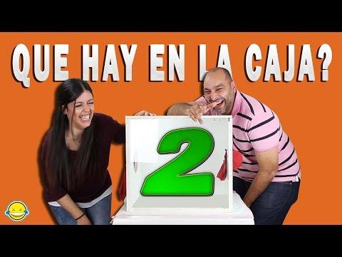 QUE HAY EN LA CAJA RETO 2??? WHAT'S IN THE BOX CHALLENGE 2??? Caja sorpresa