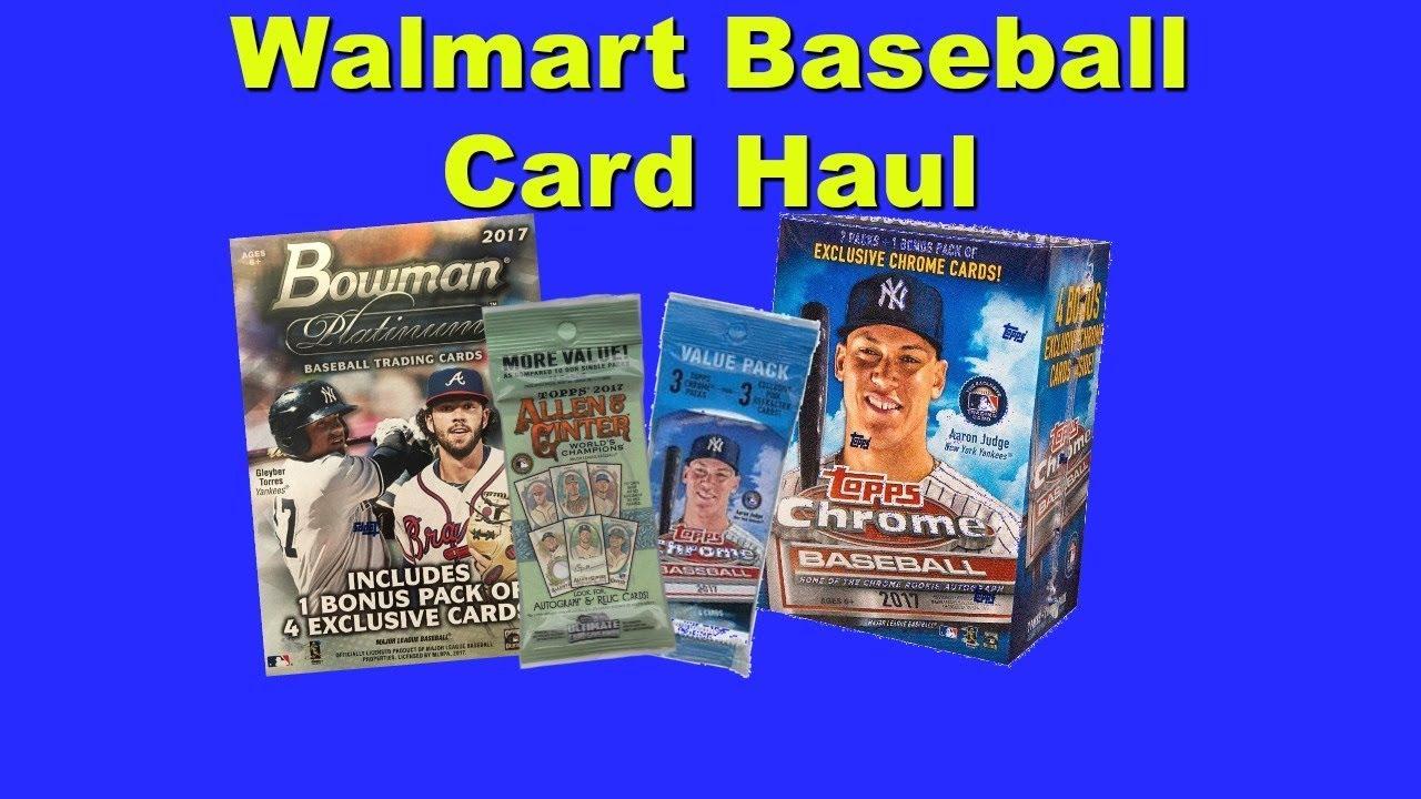 Walmart Baseball Card Haul