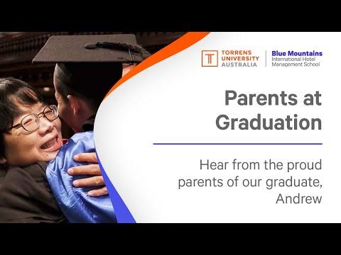 Parents at graduation - Malaysia
