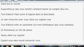 Video comment bannir du xbox live.avi