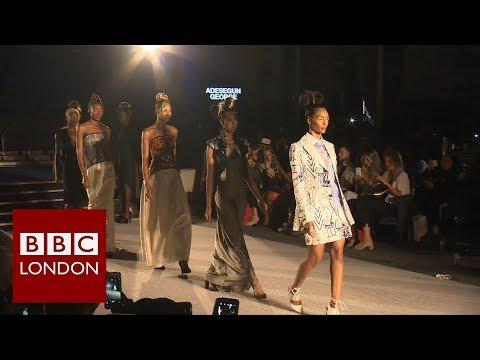 African Fashion Week - BBC London News