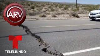 Estado de emergencia en California por réplicas del sismo | Al Rojo Vivo | Telemundo