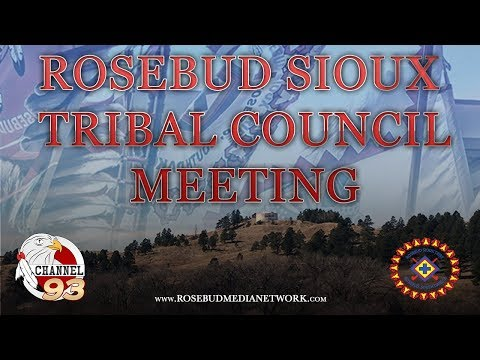 RST Tribal Council Meeting - May 11, 2018