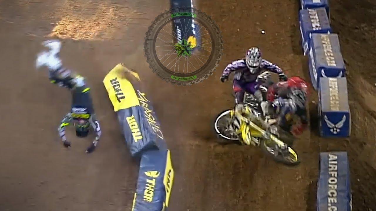 10 Weird-Looking Motocross Crashes Vol. 2
