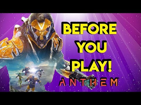 Anthem's Story - Everything you need to know   Myelin Games