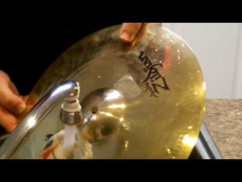 Drum Cymbal Cleaning Made Easy!!!