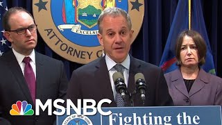 NY AG Who Investigated President Donald Trump Quits In Scandal | The Last Word | MSNBC