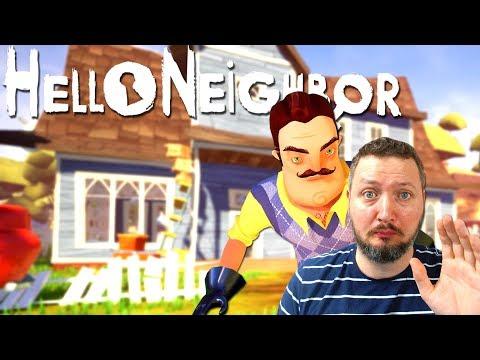 FARVEL NABO😱! - Hello Neighbor Dansk Ep 1 (ACT 1 - Part 1)
