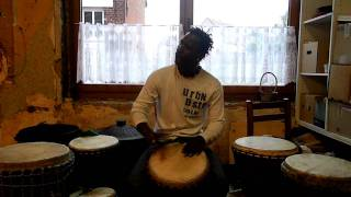 djembe player mohammed kalissa 2017 Video