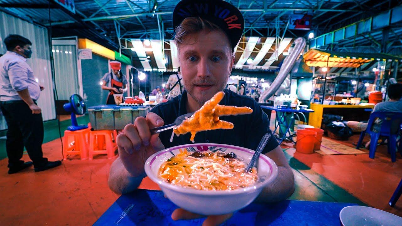 I Found UNIQUE Street Food in Bangkok / ฝรั่งกินอาหารไทย / Thailand Market 2020