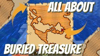 How to Use a Treasure Map in Minecraft: Minecraft Treasure Maps - How to Find Them (Avomance 2019)