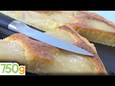 recette-de-tarte-amandine-aux-poires-rapide---750g