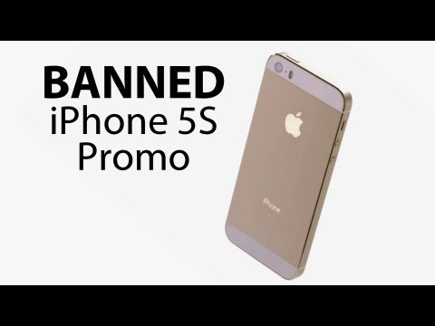 Banned IPhone 5S Promo