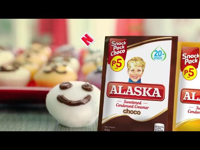 Alaska Condensed Snack Pack Choco 15s TVC 2017-2018