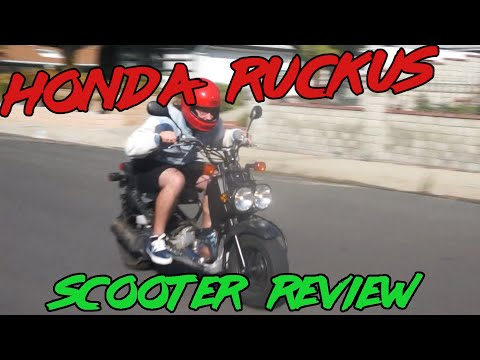 Honda Ruckus SCOOTER Review | Slowest Review Yet