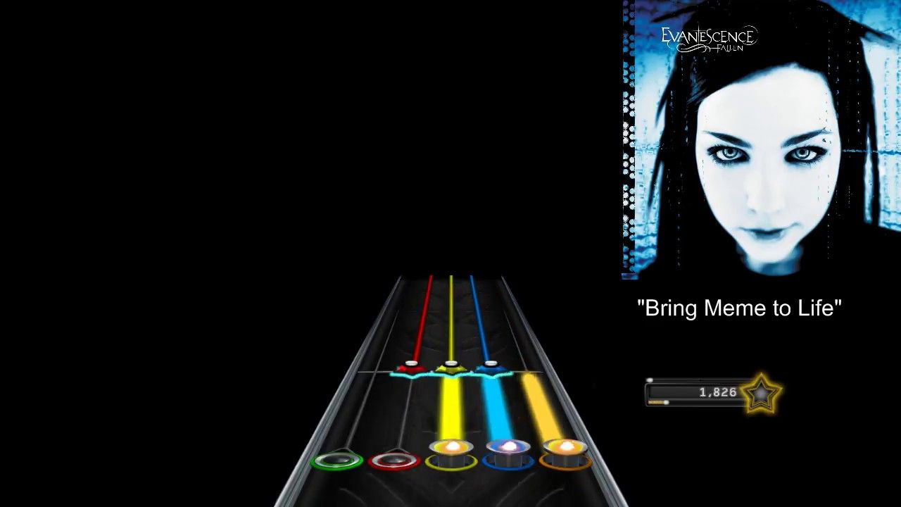 Bring Meme to Life (Chart Preview for Clone Hero) - YouTube
