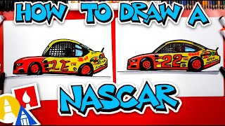 How To Draw A Nascar Race Car
