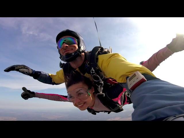 Тандем-прыжки с парашютом в Киеве. DZ Бородянка