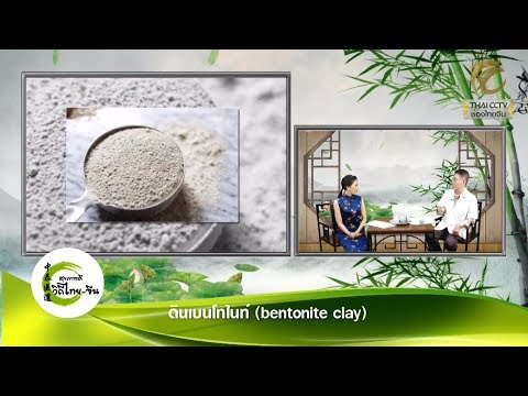 EP.202 - ดินเบนโทไนท์ (bentonite clay) โดย พจ.สัญชัย เมฆฤทธิไกร