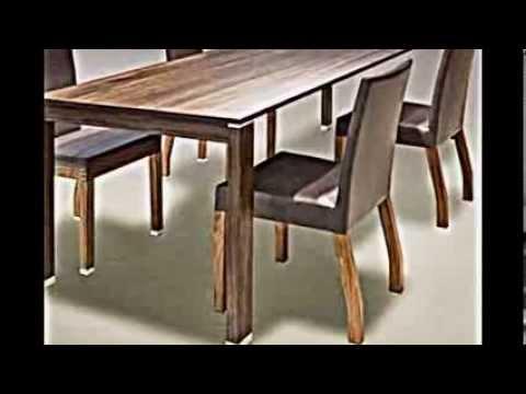 4 Modelle Für Esstisch Aus Massivholz Von Schulte Design - Youtube