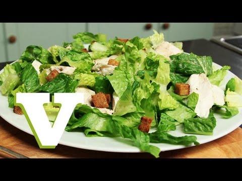 Gluten & Dairy Free Chicken Caesar Salad: Food For All