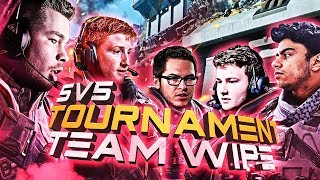 TEAM WIPE ENDING?!? 5V5 TOURNAMENT WITH OPTIC (COD: BO4)