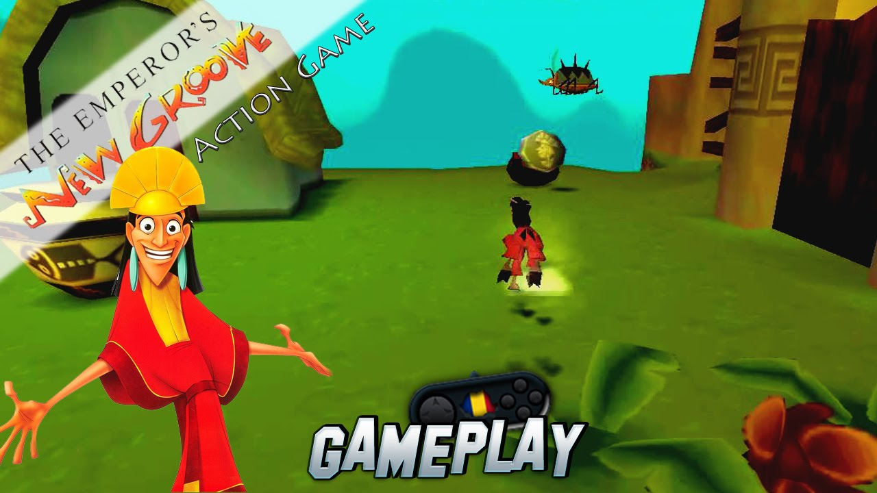 Disney S The Emperor S New Groove Action Game Pc Gameplay