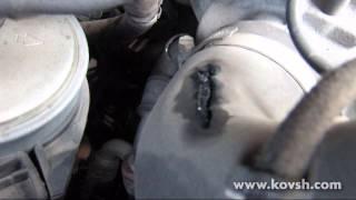 Лопнувший патрубок интеркулера(Сайт СТО