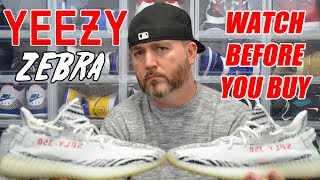 WATCH BEFORE YOU BUY: YEEZY 350 V2 ZEBRA !!! REVIEW & SIZING INFO !!!